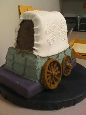Prairie Schooner Cake by Lorna Dawes