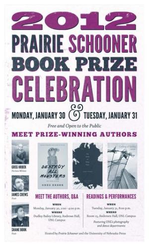 2012 Prairie Schooner Book Prize Celebration