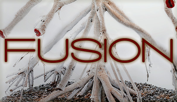 "Image advertisement for Fusion #7: Trees; ""Trees with Filipino poetry and art"""