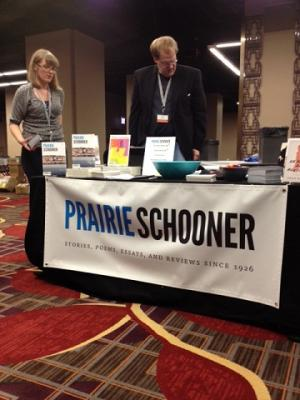 Prairie Schooner Table at AWP