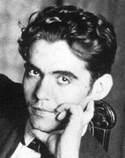 a photo of Federico Garcia Lorca