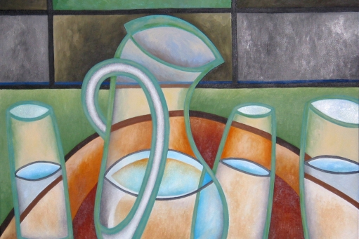 Water Pitcher, by Ray Taddeucci